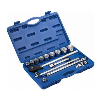 """15PC.—3/4""""DR. HAND WRENCH SOCKET  SET"""