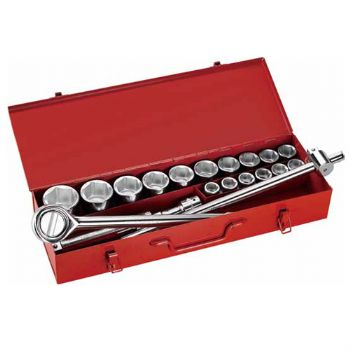 """21PC.—3/4""""DR. HAND SOCKET WRENCH SET"""